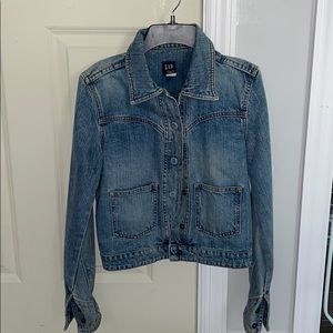 GAP Jean Jacket Size X-Small, Great Condition!